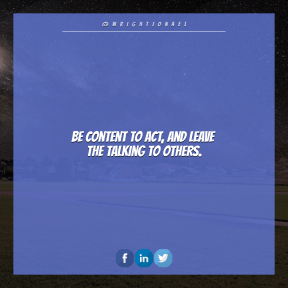 Square design layout - #Saying #Quote #Wording #midnight #font #Landscape #darkness #view #azure