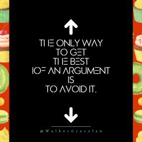 Square design layout - #Saying #Quote #Wording #food #arrow #arrows #muffin #icing #cake #up #direction #buttercream
