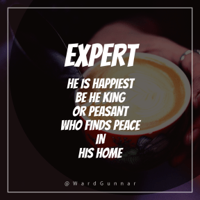 Square design layout - #Saying #Quote #Wording #poured #circle #cappuccino #flat #foam #shapes