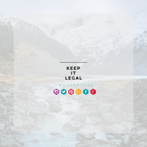 Square design layout - #Saying #Quote #Wording #shapes #hill #line #area #violet
