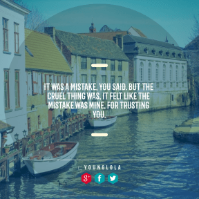 Square design layout - #Saying #Quote #Wording #tourist #water #shape #line #font #minus #essentials #geometrical