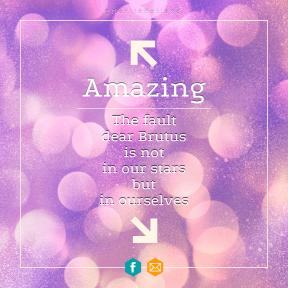 Square design layout - #Saying #Quote #Wording #line #left #brand #ascending #orange #area #pink #upper #symbol