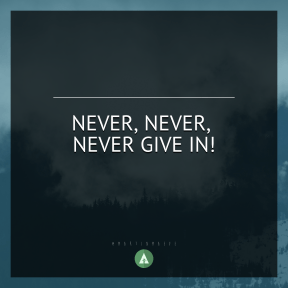 Square design layout - #Saying #Quote #Wording #mist #Modane #view #mountain #triangle #green #Thick