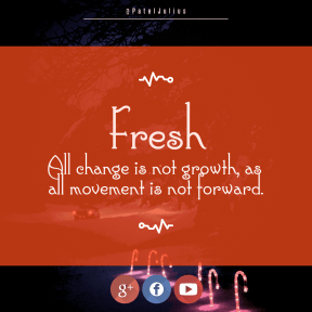 Square design layout - #Saying #Quote #Wording #text #brand #graphics #driving #red