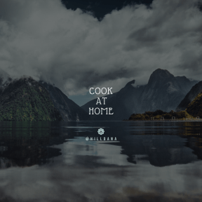 Square design layout - #Saying #Quote #Wording #retro #fjord #nature #glacial #youtube #reflection