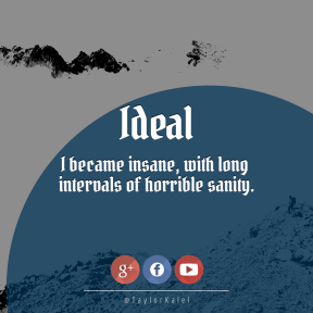 Square design layout - #Saying #Quote #Wording #shape #Hiker #logo #fell #font #text #rocky #blue
