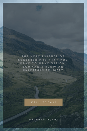 Call to action poster design - #CallToAction #Wording #Saying #Quote #shapes #scenery #option #mountainous #wilderness #mountain #stop #squares #reserve