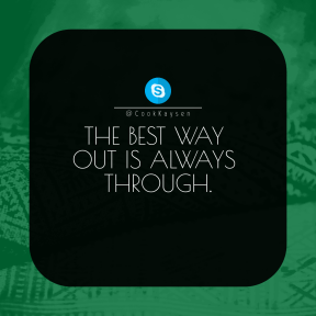 Square design layout - #Saying #Quote #Wording #close #line #button #different #patterned #area