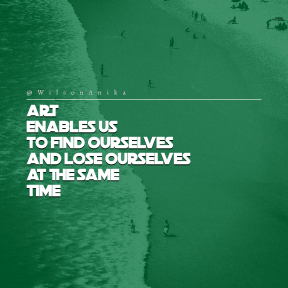 Square design layout - #Saying #Quote #Wording #water #resources #oceanic #terrain #sea
