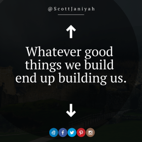 Square design layout - #Saying #Quote #Wording #symbol #blue #historic #font #graphics #Loch