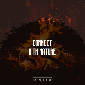 Square design layout - #Saying #Quote #Wording #swirly #jagged #campfire #geological #flame #bonfire #circles #night