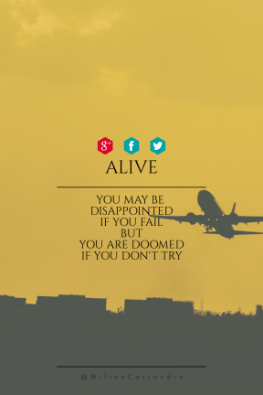 Poster Saying Layout - #Quote #Wording #Saying #airline #sign #against #font #red #text
