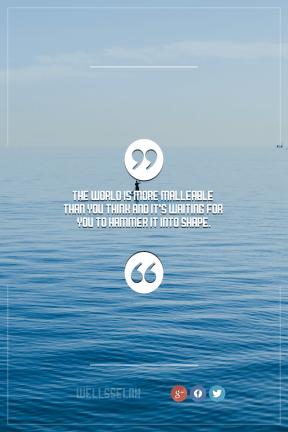 Poster Saying Layout - #Quote #Wording #Saying #typing #line #beak #sky #Beach #horizon #font #bird