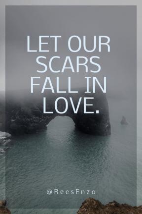Poster Saying Layout - #Quote #Wording #Saying #coastal #headland #cliff #terrain #landforms #coast #sea #mist