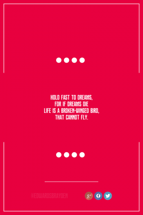Poster design - #Quote #Wording #Saying #interface #aligned #web #graphics #red