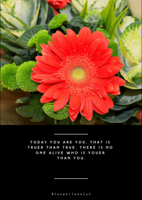 Quote image - #Quote #Wording #Saying #plantsflowers #nature #season #background #macro