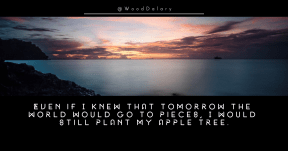 Quote image - #Quote #Wording #Saying #sky #horizon #sunset #sea #phenomenon #loch