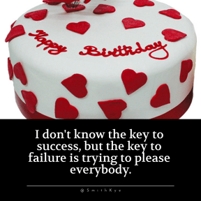 Quote image - #Quote #Wording #Saying #3d #and #background #cake #white #red #bg #bgs #birthday #backgrounds