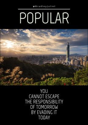 Quote image - #Quote #Wording #Saying #horizon #landmark #cityscape #skyscrapers #City