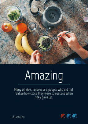 Quote image - #Quote #Wording #Saying #product #bgs #bg #blue #font #smoothie #area #text #healthy #graphics