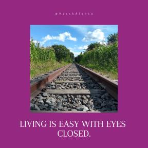 Quote image - #Quote #Wording #Saying #railway #trains #background #rails #railtrain