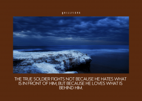 Quote image - #Quote #Wording #Saying #coast #sky #storm #horizon #shore