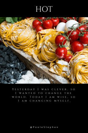 Quote image - #Quote #Wording #Saying #abstract #cuisine #colorful #ingredients #image #texture #italian