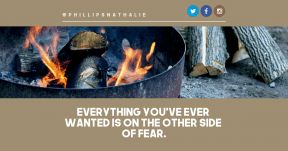 Quote image - #Quote #Wording #Saying #campfire #fire #brand #beak #circle #candle #heat #grilling