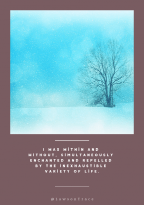 Quote image - #Quote #Wording #Saying #snowtexture #winter #wintry #background #snowflakes