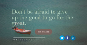 Saying Card Design - #Quote #Saying #Wording #CallToAction #An #flying #water #ocean #font #graphics