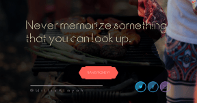 Saying Card Design - #Quote #Saying #Wording #CallToAction #meat #grill #with #edges #raggedborders #hexagons