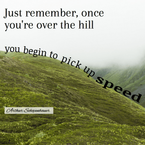 Over hill