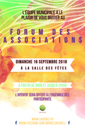 Forum Associations #invitation #party #poster #vibes