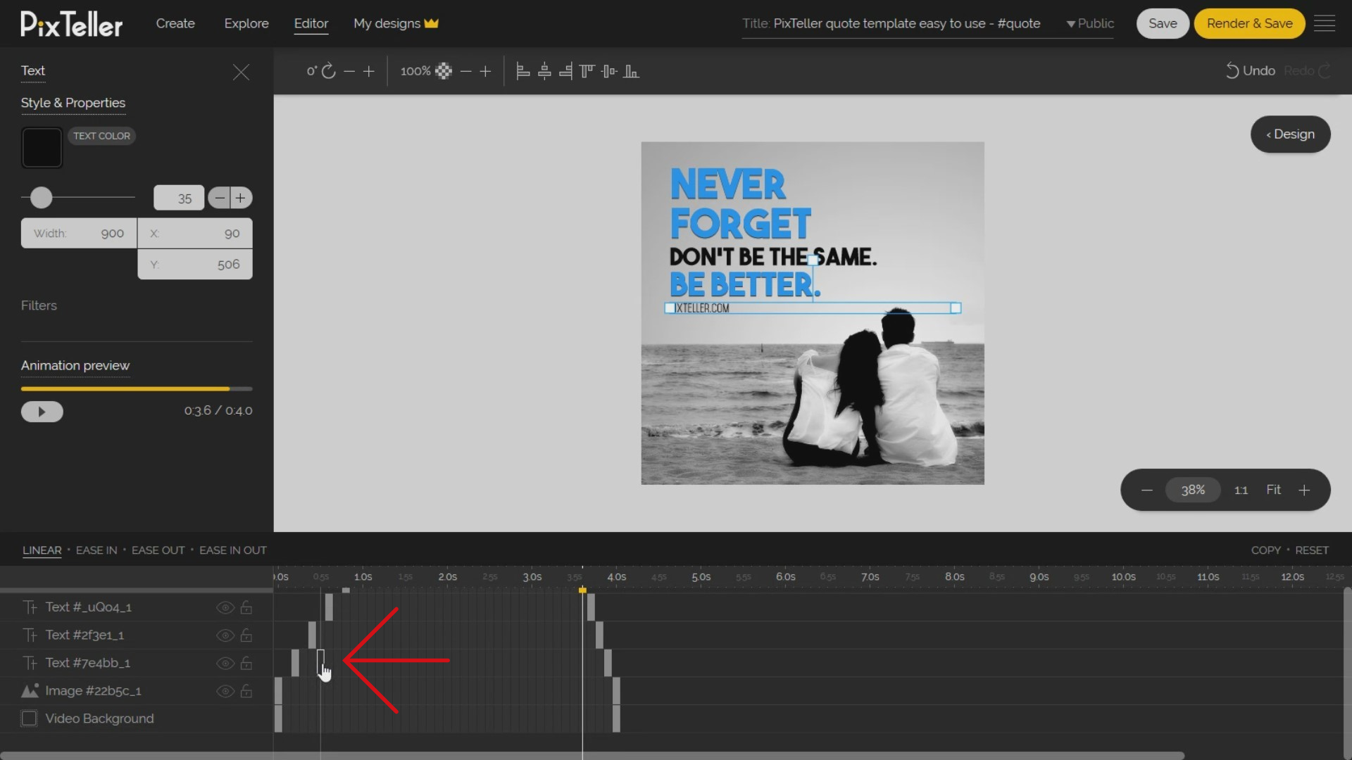 How to create the instances in Animation Mode