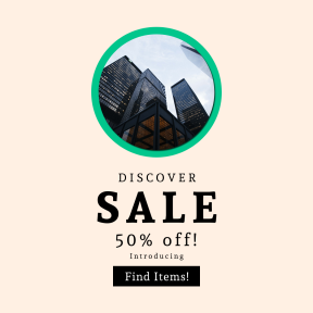Image design template for sales - #banner #businnes #sales #CallToAction #salesbanner #reflection #architecture #sky #finance #tall #urban #window #circle #exterior #skyline