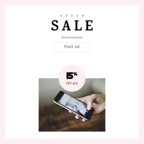 Image design template for sales - #banner #businnes #sales #CallToAction #salesbanner #browse #hand #city #instagram #photos #bokeh #thumb #cellphone
