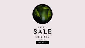 FullHD image template for sales - #banner #businnes #sales #CallToAction #salesbanner #round #green #two #circles #seasonal #vegetation #lush #bokeh #sunlit