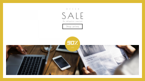 FullHD image template for sales - #banner #businnes #sales #CallToAction #salesbanner #corporate #office #laptop #iphone #planning #meeting