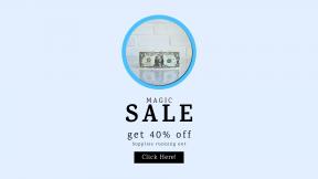 FullHD image template for sales - #banner #businnes #sales #CallToAction #salesbanner #one #note #digital #entrepreneur #america #equity #cash #george #paper #card