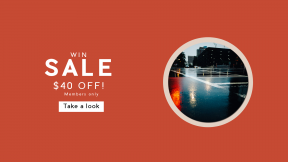 FullHD image template for sales - #banner #businnes #sales #CallToAction #salesbanner #city #light #architecture #depth #darkness #bokeh #neon