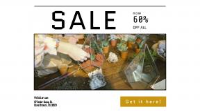 FullHD image template for sales - #banner #businnes #sales #CallToAction #salesbanner #course #teacher #craft #apron #home #potting #class #gardening #workshop #woman