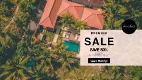 FullHD image template for sales - #banner #businnes #sales #CallToAction #salesbanner #plantation #real #tree #lot #jungle #house
