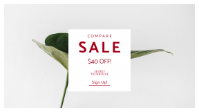 FullHD image template for sales - #banner #businnes #sales #CallToAction #salesbanner #beautiful #leafe #home #white #minimalistic #flower #indoor #beauty