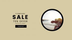 FullHD image template for sales - #banner #businnes #sales #CallToAction #salesbanner #landscape #desert #sea #rock #vacation #sky