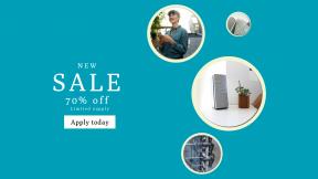 FullHD image template for sales - #banner #businnes #sales #CallToAction #salesbanner #wooden #phone #desktop #woman #modern #lady #minimalist #design #outdoors #cityvibe