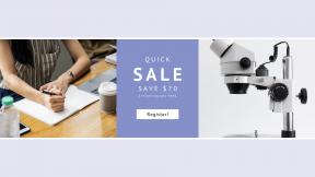 FullHD image template for sales - #banner #businnes #sales #CallToAction #salesbanner #equipment #laptop #magnification #binocular #examine #smartphone #coffee