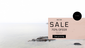FullHD image template for sales - #banner #businnes #sales #CallToAction #salesbanner #coast #sky #tide #bank #rock #waterside #water #beach
