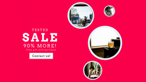 FullHD image template for sales - #banner #businnes #sales #CallToAction #salesbanner #property #mode #recreation #coffee #plant #moped