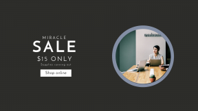 FullHD image template for sales - #banner #businnes #sales #CallToAction #salesbanner #computer #american #device #person #business #laptop #working #digital #communication #woman