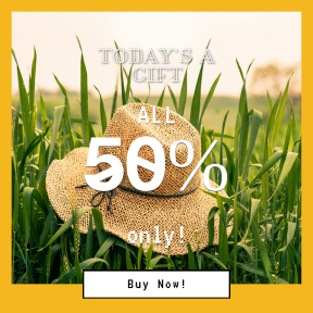 Image design template for sales - #banner #businnes #sales #CallToAction #salesbanner #agriculture #commodity #sitting #field #crop #grass #Caracal #family
